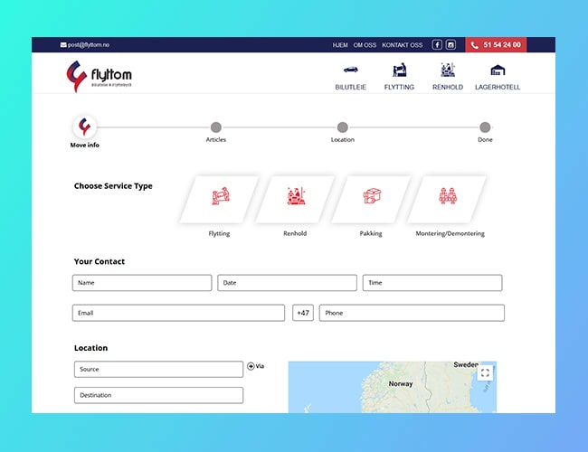 Plugin for Moving and Cleaning Services