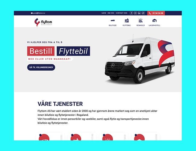 Multi-services Website